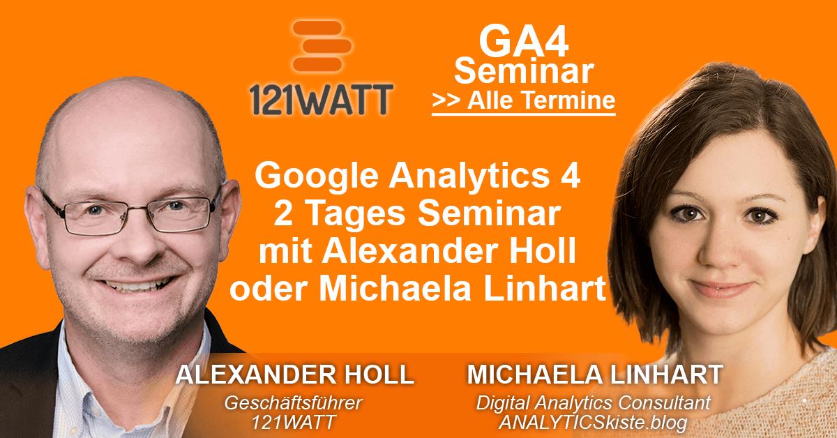 121Watt GA4 Seminar