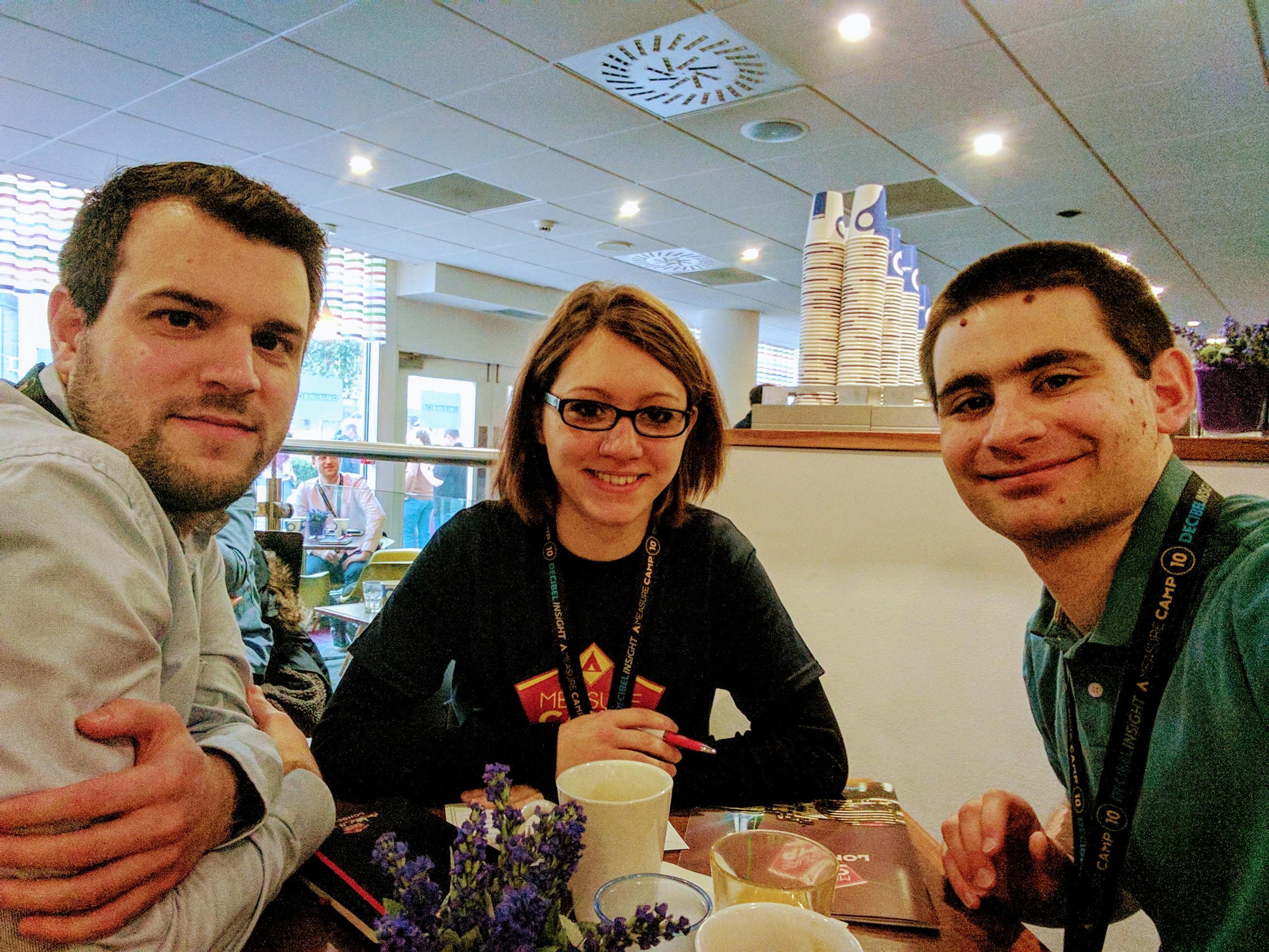 Johannes, Mimi und Matthias