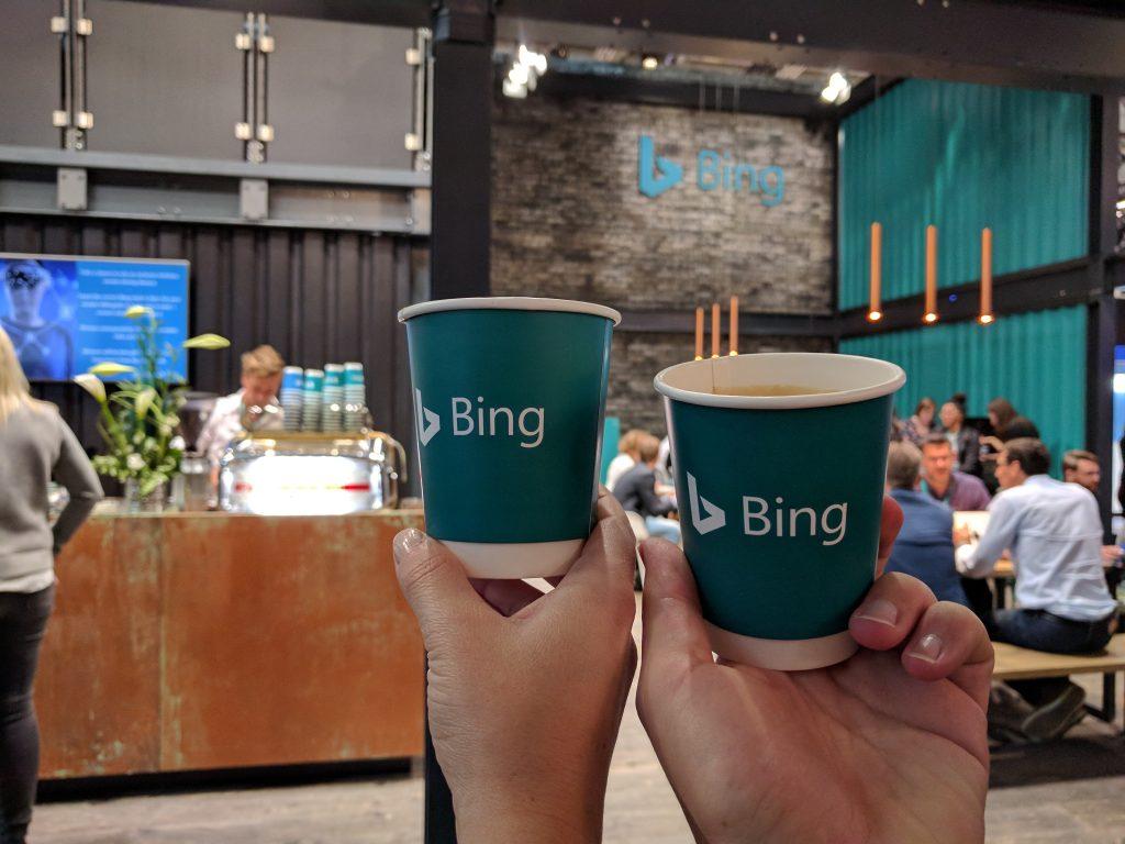 Mit Bing-Kaffee in den Tag starten