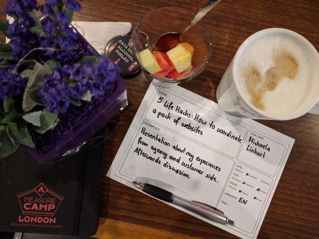 MeasureCamp Frühstück und Planung