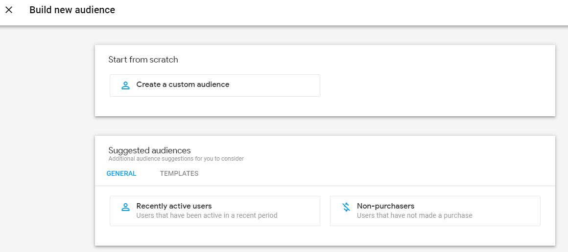 Google Analytics 4 - Neue Audience erstellen