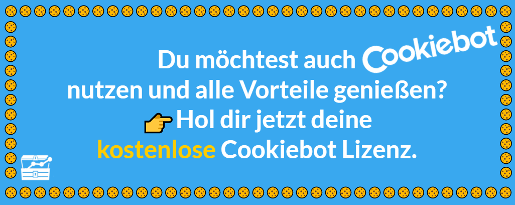 Cookiebot Banner