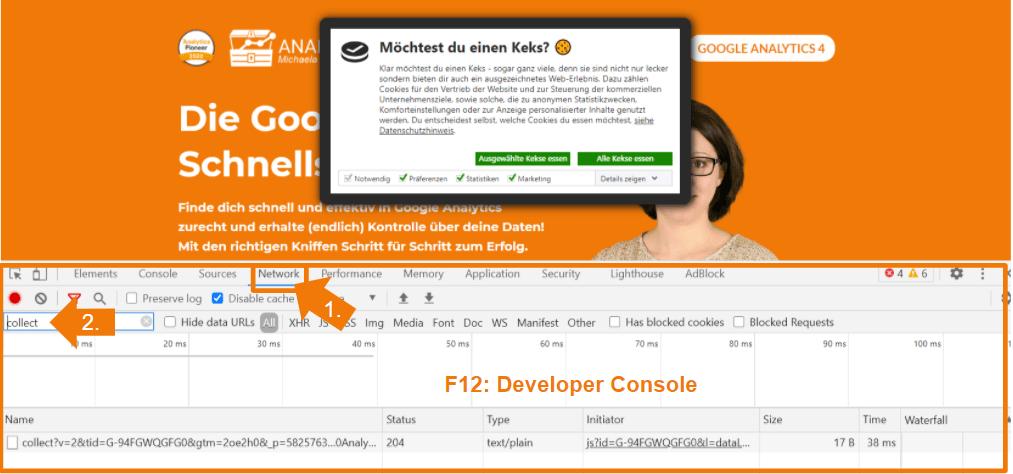 F12 Developer Console