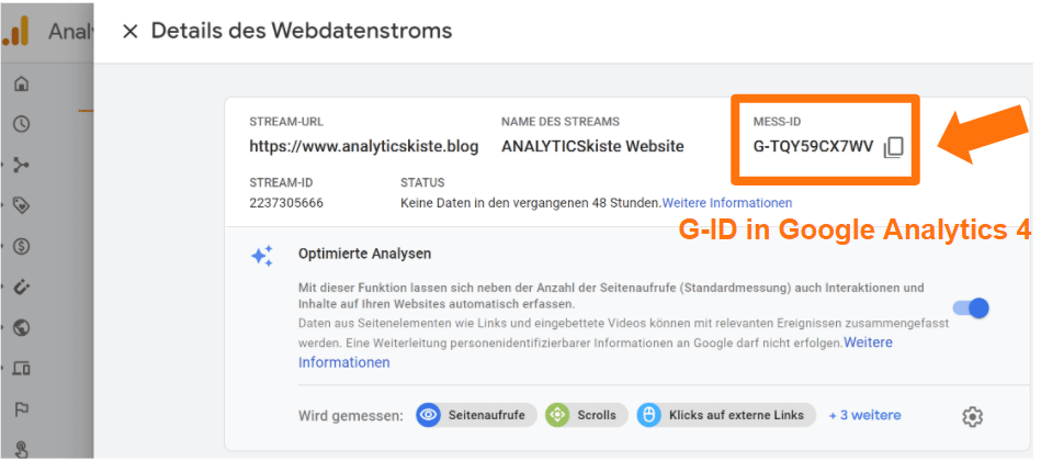 GID in Google Analytics 4