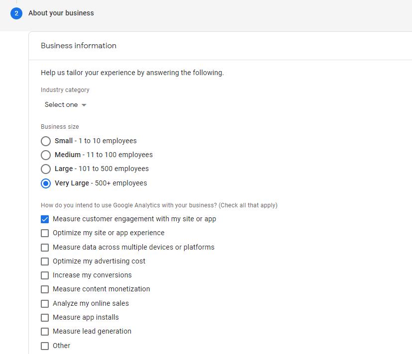 Google Analytics 4 - Property Einstellungen Teil 2