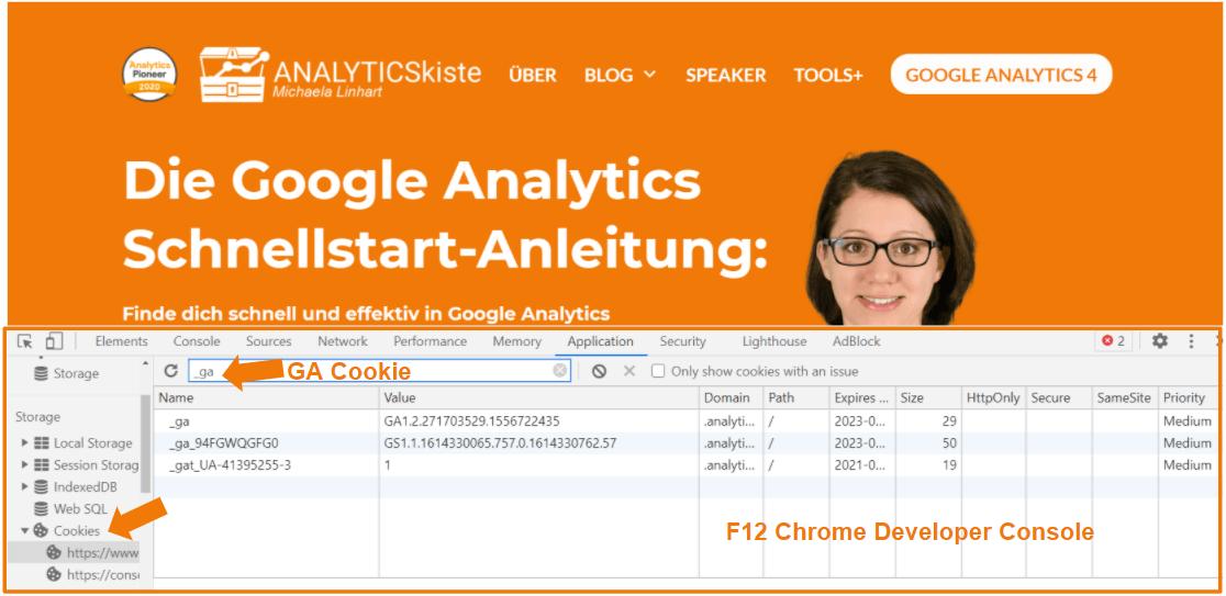 Google Analytics Cookie _ga