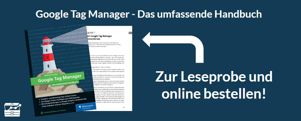 Google Tag Manager - Das umfassende Handbuch