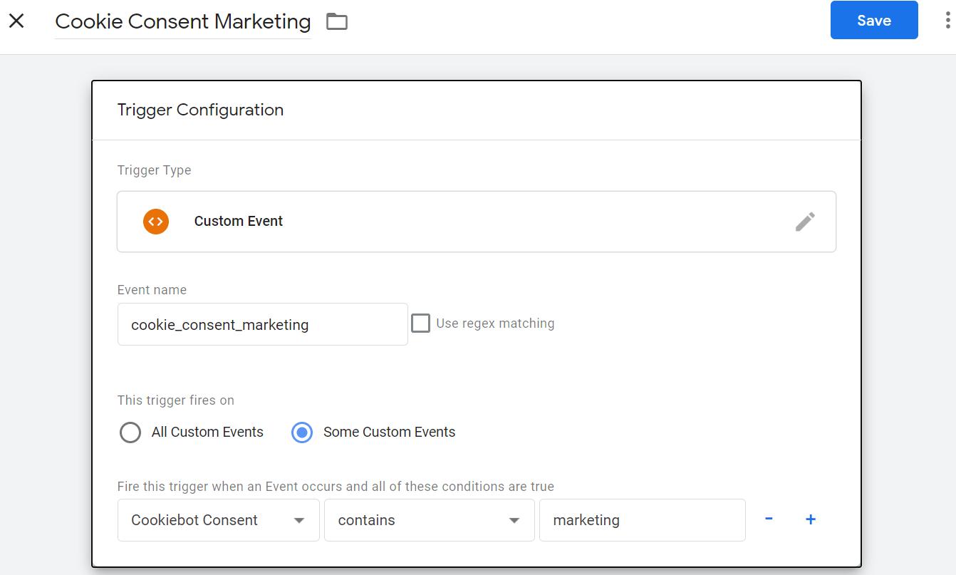 cookie_consent_marketing Trigger im GTM