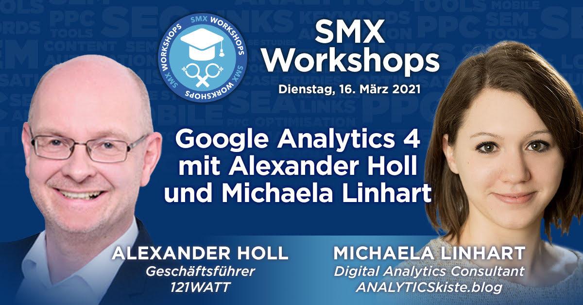 GA4 mit Alexander Holl und Michaela Linhart